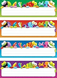 4 X Frog-tastic! Desk Toppers Name Plates Variety Pack
