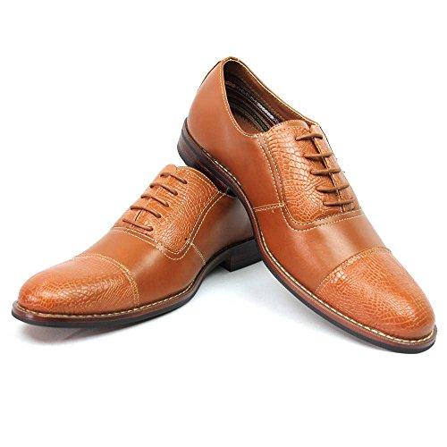 New men s ferro lace up modern design dress shoes cap toe 1950 11 u s