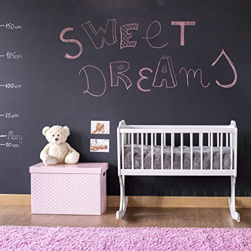 tafelfolie selbstklebend wandttafel kinderzimmer diy tafel kreidefolie schwarz klebefolie. Black Bedroom Furniture Sets. Home Design Ideas