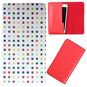 DooDa - For Spice Coolpad 2 (MI-496) PU Leather Designer Fashionable Fancy Case Cover Pouch With Smooth Inner Velvet