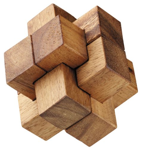Burr Box Wooden Puzzle Brain Teaser
