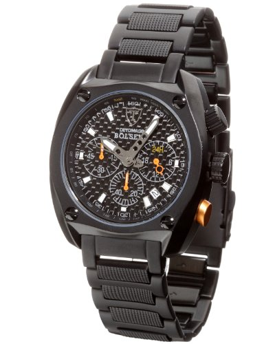 DETOMASO Bolsena Chronograph Gents Watch Steel SM1552C-BK1