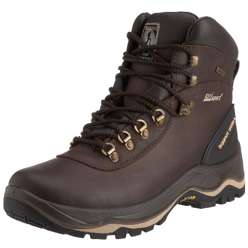 Grisport Men's Edge Hiking Boot Brown CMG665 12 UK