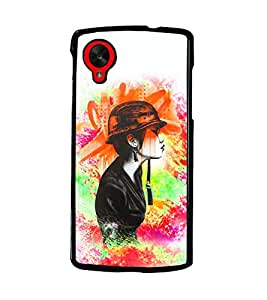 PRINTSWAG BEAUTIFUL GIRL Designer Back Cover Case for LG GOOGLE NEXUS 5