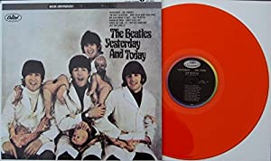 """The Beatles """" Yesterday And Today """" MONO w/ BUTCHER COVER Blue Vinyl LP {Limited Replica/Collectors Edition}LAST Copies"""