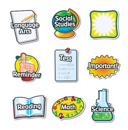 Learning Resources Magnetic Subject Labels - Set Of 9 front-1078759