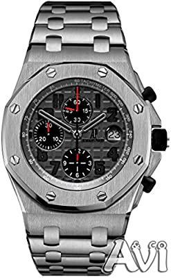 Audemars Piguet Royal Oak Offshore Chronograph Titanium Watch 26170ti.oo.1000ti.01 Unworn