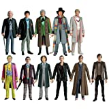 Doctor Who 11 Doctors Action Figure Collector Setby Character