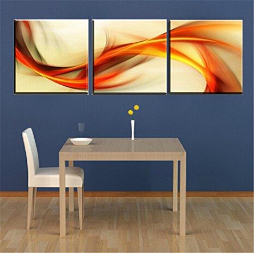 3pcs combinaci n pintura del hogar del cuadro moderno de - Pinturas para el hogar ...