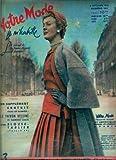 Votre Mode - n°341 - 03/09/1953 - Jeanne Lafaurie (couv.) / Blouse-tablier T.44 (patron)