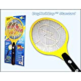 BugKwikZap TM (Trademarked) Bug Zapper Electric Fly Swatter / Model - Standard / Standard Quality / 2300 Volts / 2 AA Batteries / Light / 1PK ~ BugKwikZap