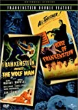 Frankenstein Meets the Wolf Man / House of Frankenstein (Universal Studios Frankenstein Double Feature) [Import]