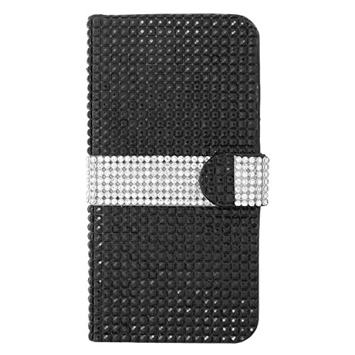 Eaglecell For Iphone 6 Plus 5.5 Leather Pouch Fds77 Black