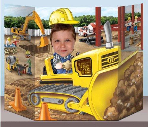 Construction Photo Prop Party Accessory (1 count) (1/Pkg)