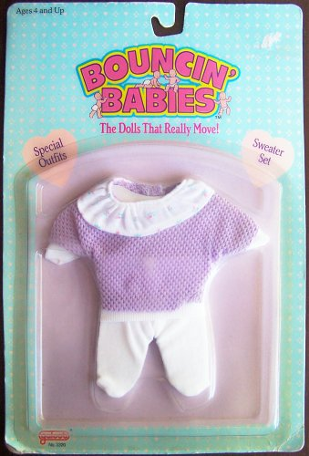 Bouncin' Babies Special Outfits ~ Sweater Set - 1