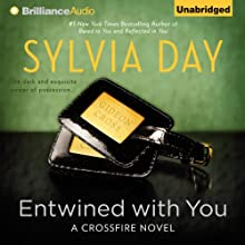 Entwined With You: Crossfire Series, Book 3 (       UNABRIDGED) by Sylvia Day Narrated by Jill Redfield