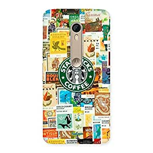 Special Coffee SB Multicolor Back Case Cover for Motorola Moto X Style