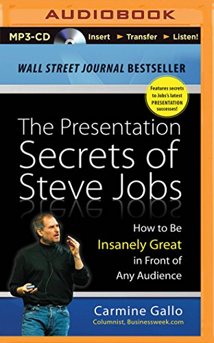 Download The Presentation Secrets of Steve Jobs: How to Be Insanely Great in Front of Any Audience