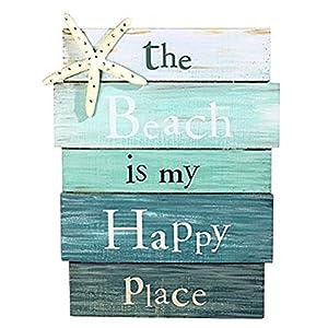 51F25m1TMmL._SS300_ 100+ Wooden Beach Signs & Wooden Coastal Signs