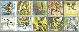 Gran Bretaña 2558-2567 Zehnerblock (completa.edición.) nuevo con goma original 2007 Aves (sellos para los coleccionistas)