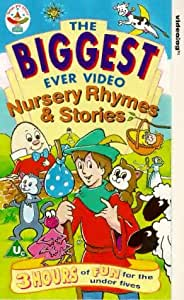 The Biggest Ever Nursery Rhymes And Stories [VHS]