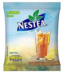 Nestea Iced Tea Lemon, 400g with Free Sipper, 1L