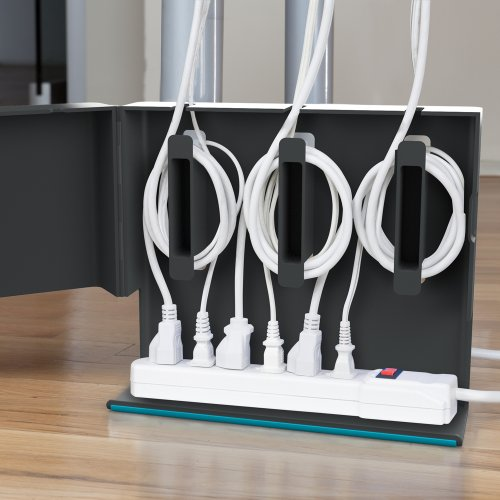 Quirky 電源ケーブル電源タップ収納ボックス PlugHub プラグハブ QR-PLG-CW1