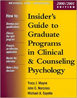 Counseling Psychology universities guides