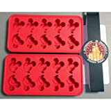 Disney Mickey Ears Ice Tray Set of 2