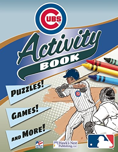 MLB Chicago Cubs Activity and Coloring Book PDF