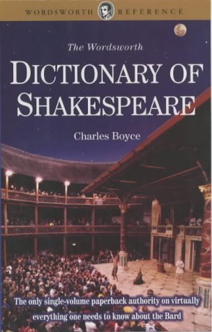 Dictionary of Shakespeare, CHARLES BOYCE