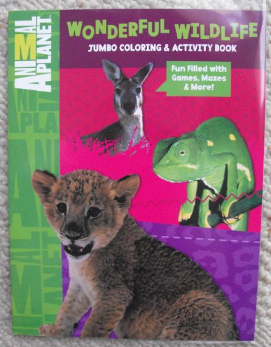 Animal Planet 64Pg Coloring And Activity Book.(Wonderful Wildlife)