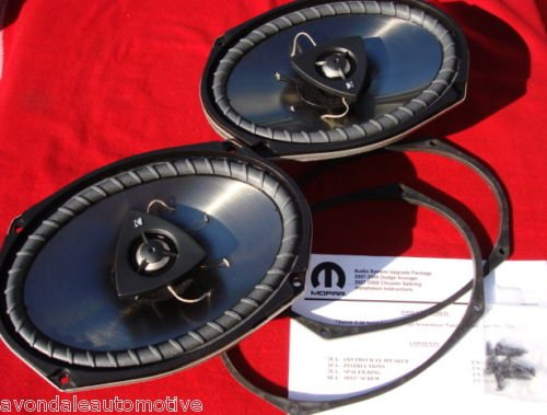 Chrysler 300 2011-2012 Rear Kicker Speaker Upgrade Mopar Oem