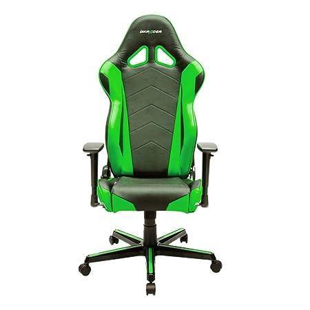 DX Racer Oh/RZ0/Non Seggiolino Gaming Nero/Verde