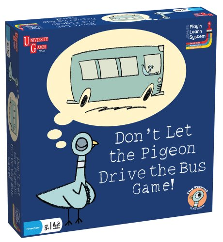 Cheap University Games Don't Let the Pigeon Drive the Bus Game! (B003G9QEGG)