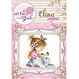 Wild Rose Studio Ltd. Cling Stamp-Emily Vacuuming