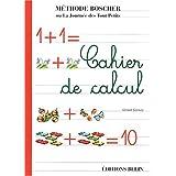 Cahier d'exercices de calcul