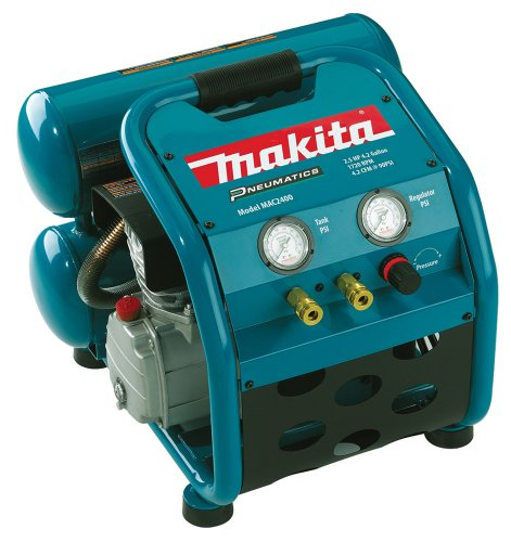 Review Of Makita MAC2400 Big Bore 2.5 HP Air Compressor