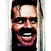 大きな写真、「シャイニング」ドアの裂け目から。ジャック・ニコルソン