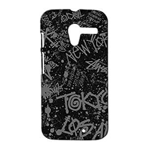 Mobile Cover Shop Glossy Finish Mobile Back Cover Case for Moto X 1st Gen