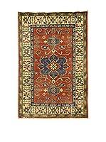Eden Carpets Alfombra Uzebekistan Rojo/Azul/Multicolor 120 x 80 cm