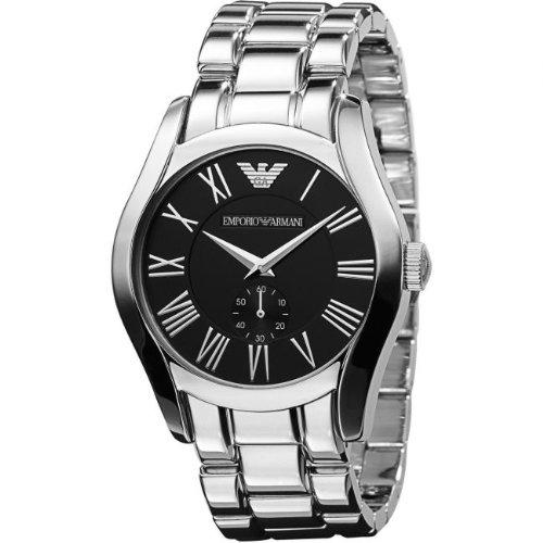 Emporio Armani #AR0680 - Reloj para hombres, correa de acero inoxidable