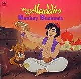 Disney's Aladdin: Monkey Business (Golden Look-Look Book)