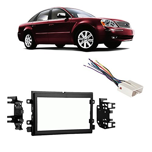 fits-ford-five-hundred-05-07-double-din-stereo-harness-radio-install-dash-kit