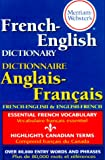 img - for Merriam-Webster's French-English Dictionary book / textbook / text book