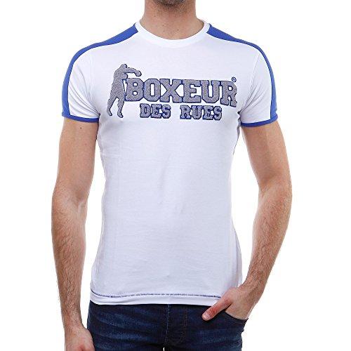 Boxeur Des Rues Série Exclusive T-shirt con Logo Applicato, Bianco, M