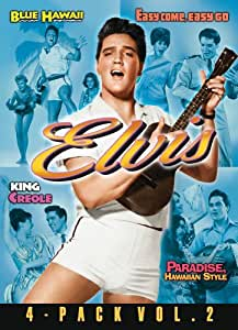Elvis Four-Movie Collection Volume 2 (Includes Blue Hawaii, Easy Come, Easy Go, King Creole, Paradise, Hawaiian Style) (Bilingual)