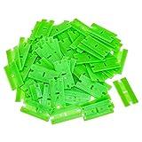 100 pc Plastic Razor Blade w/Chisel Edge