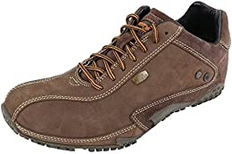 Woodland Mens Leather Casual Shoes Brown Colour B01AF6SBRM
