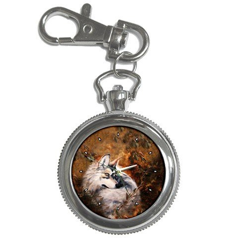 Limited Edition Violano Keychain Pocket Watch Autumn Wolf